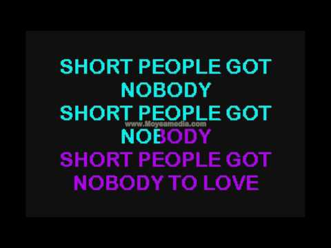 Short People   Randy Newman HD Karaoke PK00451
