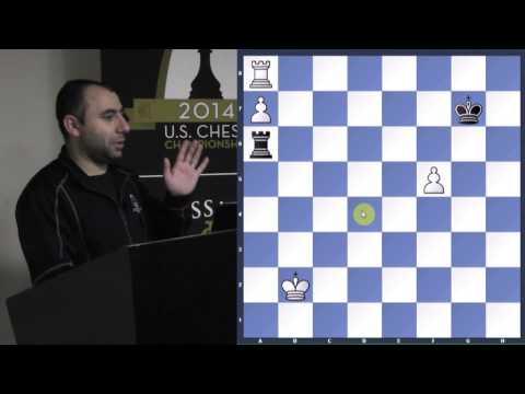 Chess for Beginners with GM Varuzhan Akobian (Endgame Studies) - 2014.06.15
