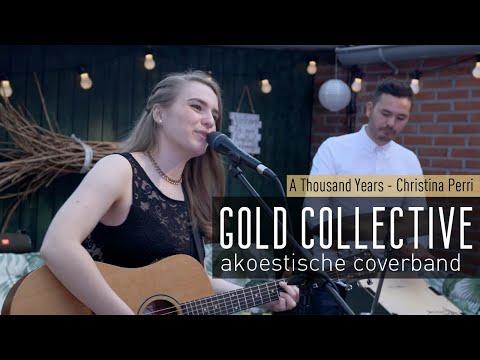 Akoestische band Gold Collective. Live muziek op bruiloft, feest, achtergrondmuziek of bruiloftsband
