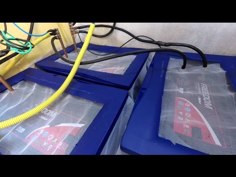 Energia Solar Bateria em Tanques De Agua e Dicas Importantes