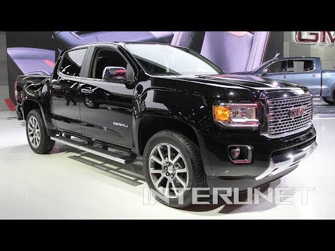2019 GMC Canyon Denali - midsize pickup truck overview