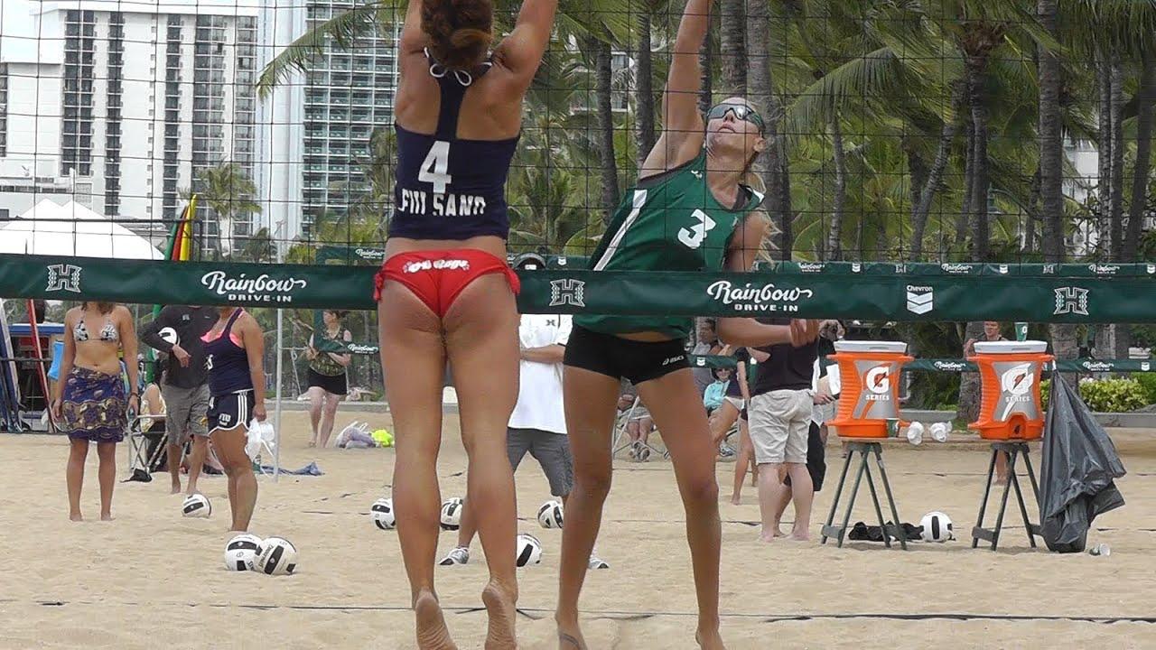 nude beach girls volleyball