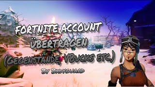 TRANSFERT DE COMPTE FORTNITE !! SO WORKS it [lien dans la description] 🔥 - par Bxdyguard