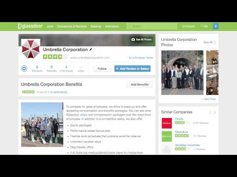 Glassdoor Benefits Reviews
