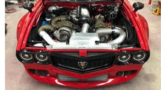 Billet 4 Rotor AWD Rx7 Initial Tuning & Overview