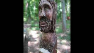 "Carving A ""far Out"" Hippy Walking Stick"