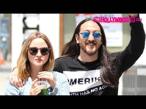 Steve Aoki & Devon Aoki Hang Out After Recovering From Surgery 6.1.15  TheHollywoodFix.com