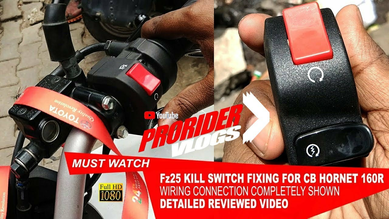 How To Fix Yamaha Fz25 Kill Switch Cb Hornet 160r Detailed Wiring Video With Shown