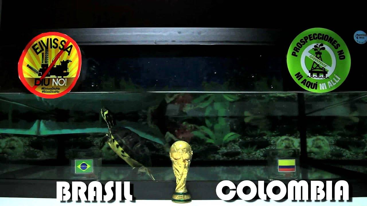 RESULTADO CUARTOS DE FINAL MUNDIAL BRASIL 2014 - BRASIL vs COLOMBIA ...