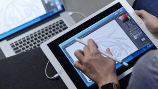 Use the iPad Pro like a Wacom Cintiq