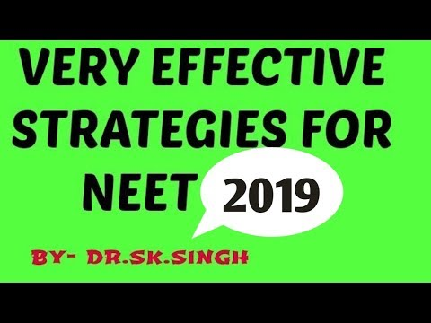 how to prepare/crack NEET 2018/ TIPS/PLAN/Strategies for cra