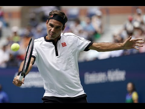 Roger Federer Vs David Goffin Extended Highlights | US Open 2019 R4