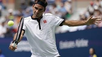 Roger Federer vs David Goffin Extended Highlights   US Open 2019 R4