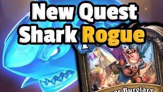 Quest Shark Rogue Is Super Fun - Hearthstone Descent Of Dragons