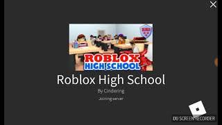 HOY VAMOS A JUGAR meep city y roblox high school (roblox)