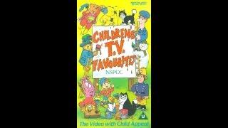 NSPCC Children's TV Favoruites 1990 Reissue UK VHS