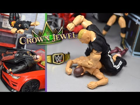 WWE ACTION FIGURE SETUP! CROWN JEWEL EDITION!