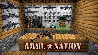 NOOB AND PRO BUY GUN SHOP: Minecraft Battle