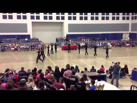 McAllen Memorial High School Prancers Team Military at ADTS