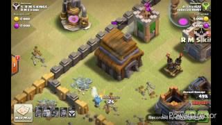 Clash of clans-stivik22-6 neumím útočit??!!