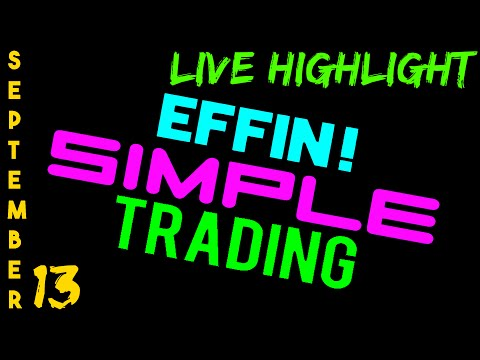 9/13/16 LIVE Stream Highlight – eMini NASDAQ (NQ) – Futures Day Trading // EffinSimpleTrading
