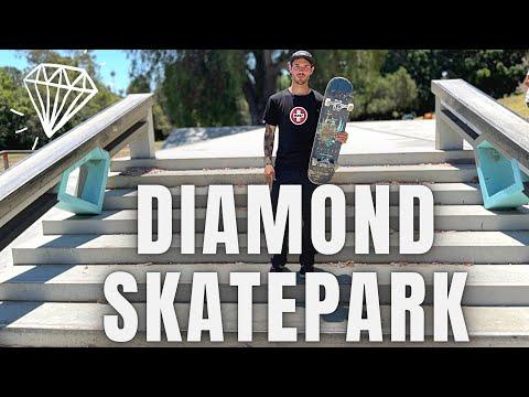 NOLLIE VS FAKIE DIAMOND SKATE PLAZA @Zach Doelling