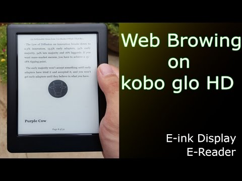 Kobo Glo HD - Web Browsing