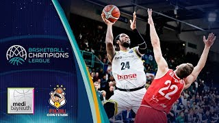 medi Bayreuth v Filou Oostende - Full Game - Basketball Champions League 2018-19