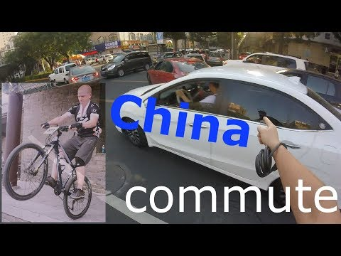 Crazy commute to work in CHINA! English teaching job