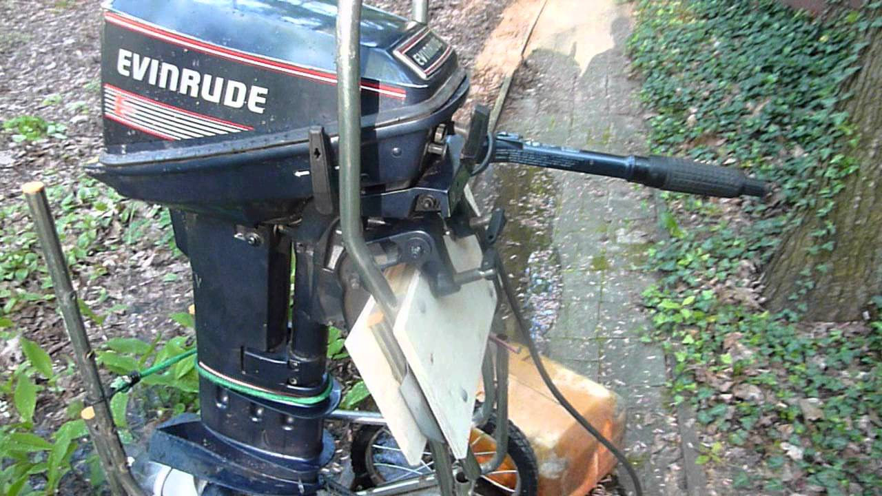 Evinrude 15 Hp >> 1989 Evinrude 15 Hp Long Shaft Electric Start Tiller First Fire