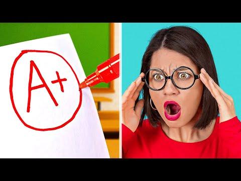 THỦ THUẬT CÙNG MẸO HỌC ĐƯỜNG VUI NHỘN VÀ HỮU ÍCH! Ý tưởng trường học tự làm bởi 123 GO! SCHOOL