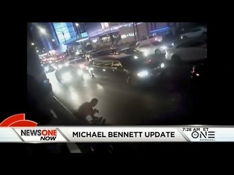 New Police Body Cam Footage Of Michael Bennett Arrest Released