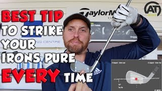 THE BEST TIP TO STRIKE YOUR IRONS PURE EVERY TIME