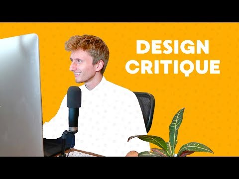 Critiquing Your Design Projects - You Guys Rule 3