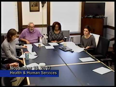 Health Human Services Committee   November 16, 2017