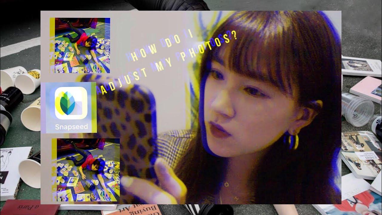 【Yazei日常】我都怎麼用Snapseed調色修圖的?強迫癥發作. . . .。 - YouTube