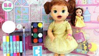 SARA BabyAlive es BELLA la Princesa Disney