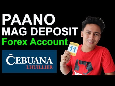How To Deposit Forex Account Philippines Using Cebuana Lhuillier