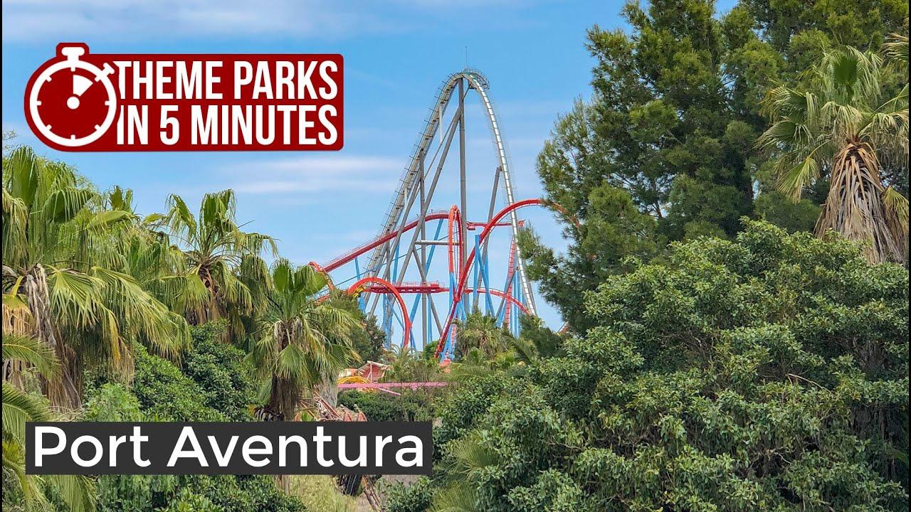 PortAventura World, Spain | Theme Parks in 5 Minutes