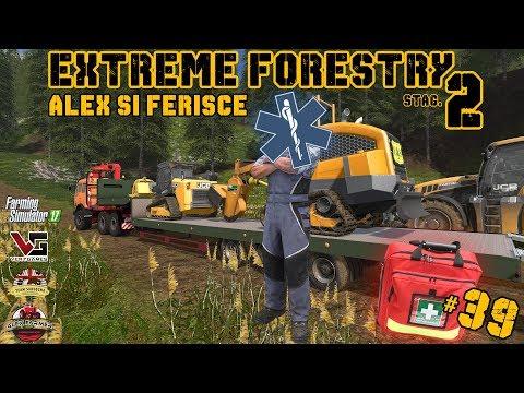 EXTREME FORESTRY STAG.2 | #39ep. - ALEX SI FERISCE - FARMING SIMULATOR 17