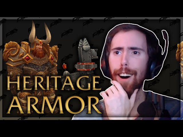 Asmongold Reacts to Dwarf Heritage Armor With Mcconnell