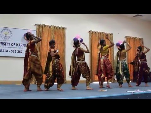 Ankur 2016 - Group Dance (Department Of Chemistry, Central University Of Karnataka)