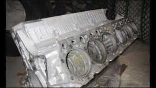 ЯМЗ-240НМ2. Подготовка блока- двигателя к первоначальной сборке.