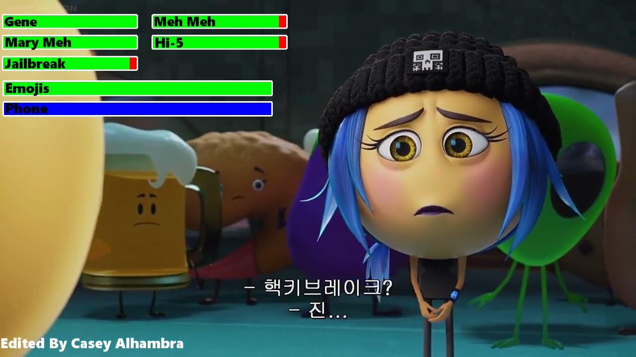 Download The Emoji Movie (2017) Final Battle with healthbars (Birthday Special)