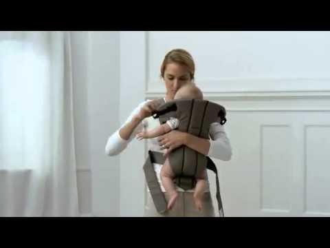 Обзор рюкзака кенгуру BabyBjorn One - YouTube