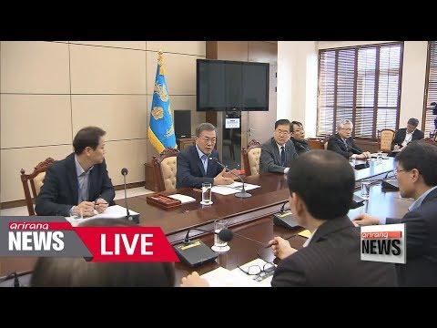 [LIVE/ARIRANG NEWS] South Korean President Moon Jae-in in crisis mode: Orders all efforts...