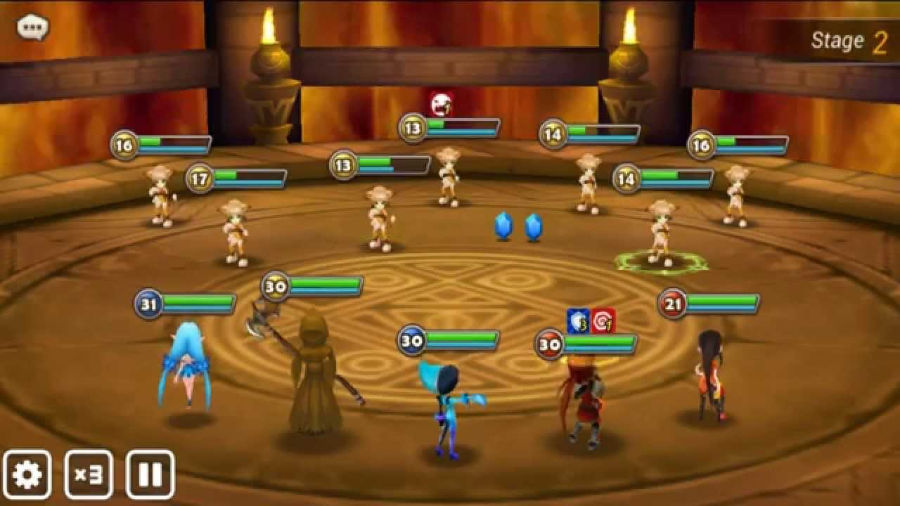 Summoners War HD Gameplay Part 1 (iOS/Android) 3D RPG