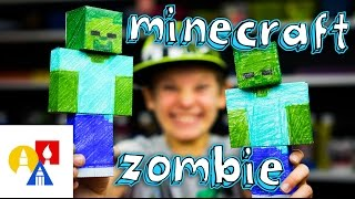 How To Make A Minecraft Zombie