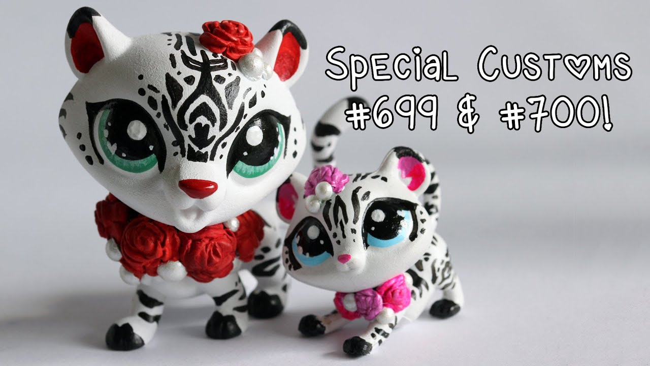 Special Milestone LPS Customs 699 And 700 Mommy And