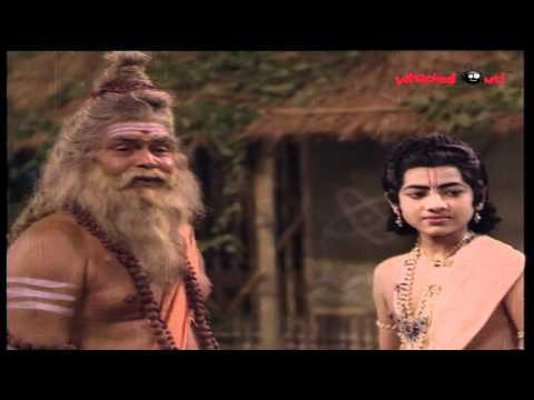 Ayyappa Swamy Mahatyam Movie Scenes - Manikanta Giving Gurudakshana
